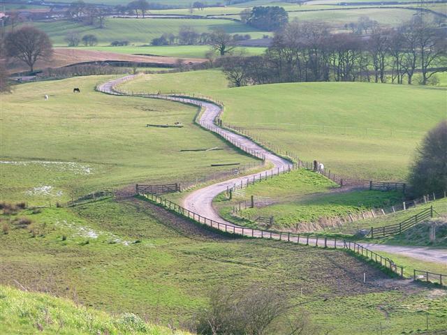 Farm Track to Nun House