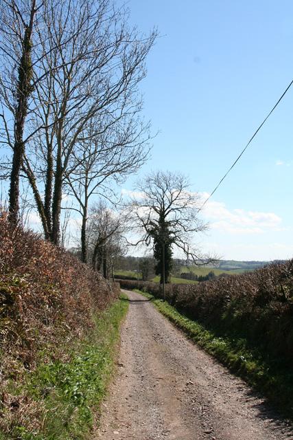 Dulverton: Combe Lane