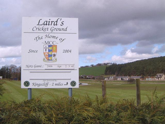 Laird's Cricket Ground, Methlick, Aberdeenshire