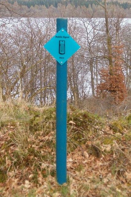 A signal signpost