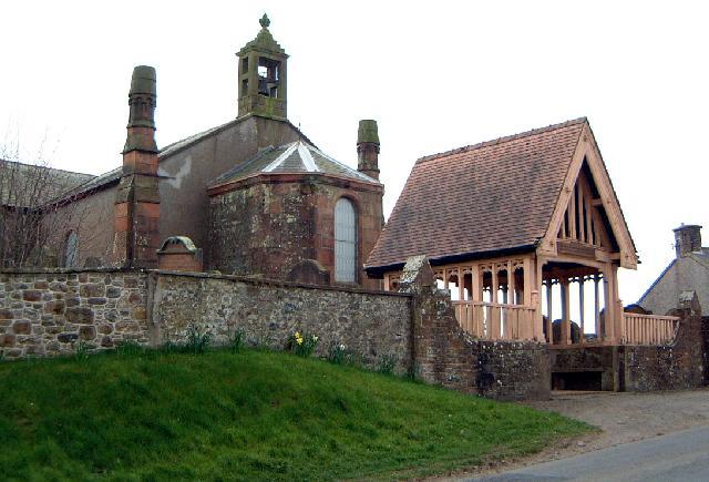 The church, Cummertrees