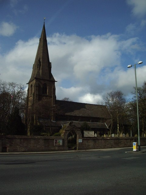 All Saints with St John the Baptist Church, Habergham