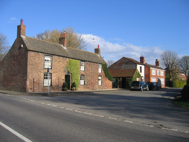 The centre of Kirton End hamlet, Lincs