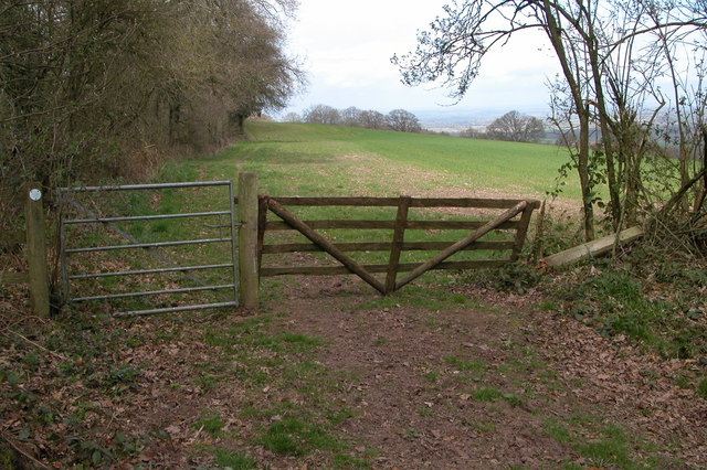Gate from Burnt Wood