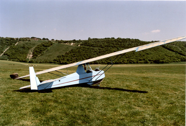 Slingsby T-31 at Dunstable Downs