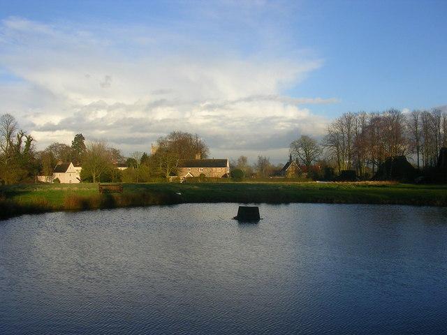 Village Pond, Thrandeston