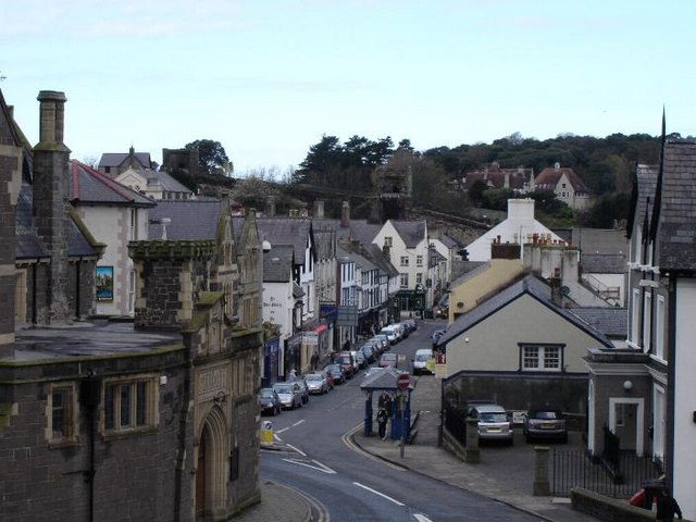 Conwy town centre