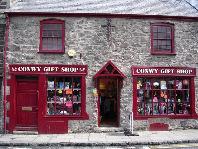 Conwy gift shop