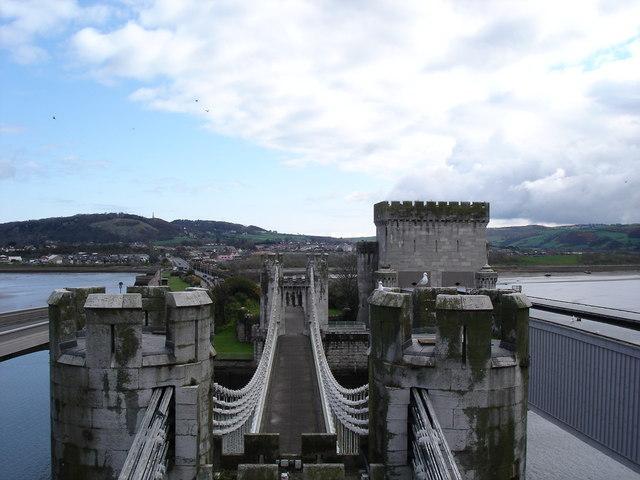Conwy bridge
