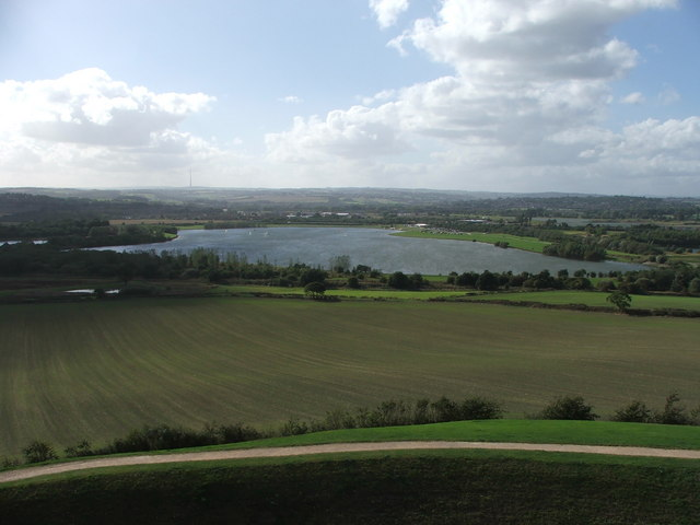 View from Sandal Castle.