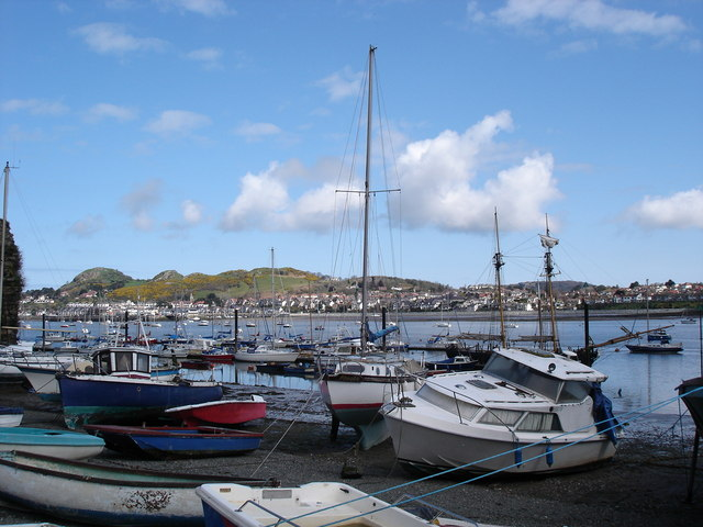 Conwy low tide