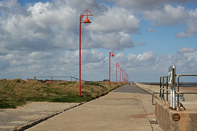 The Promenade and Sea Defence Wall