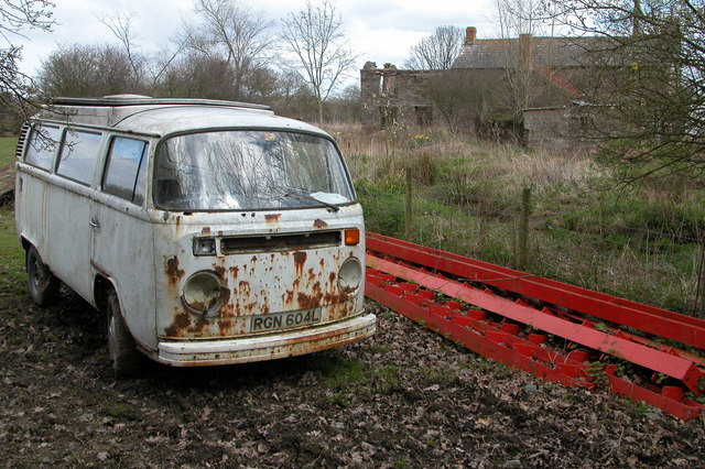 Old VW Camper Van