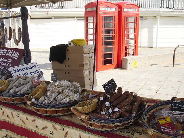 French market at Ramsgate