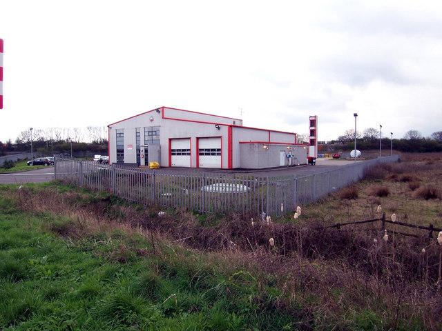 Immingham West Fire Station, Killingholme