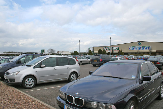 Gonerby Moor Retail Park