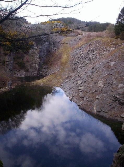 Carmyllie Slate Quarry