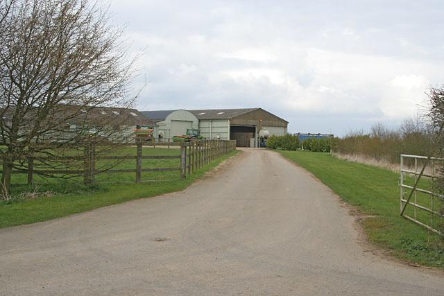 North Lodge Farm on Ropsley Heath, Lincolnshire