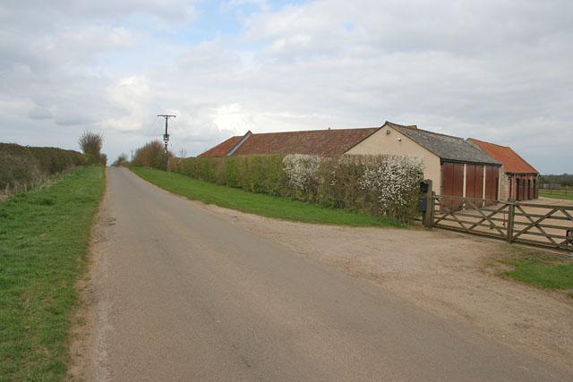 Glebe Farm near Ropsley
