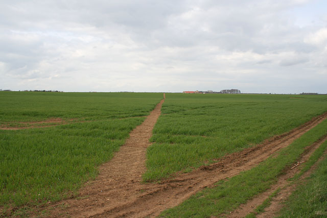 Footpath near Ropsley, Lincolnshire