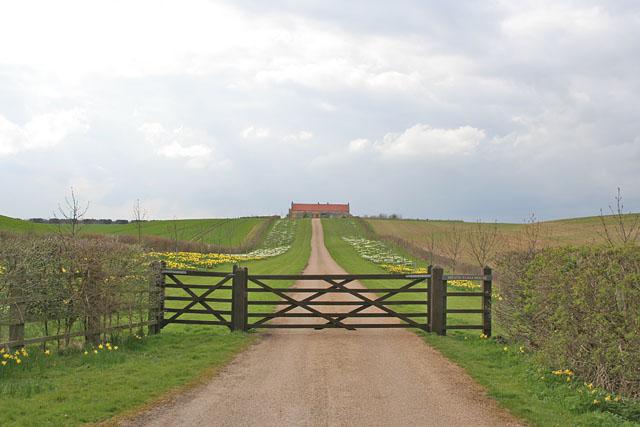 Heath Farm near Ropsley, Lincolnshire