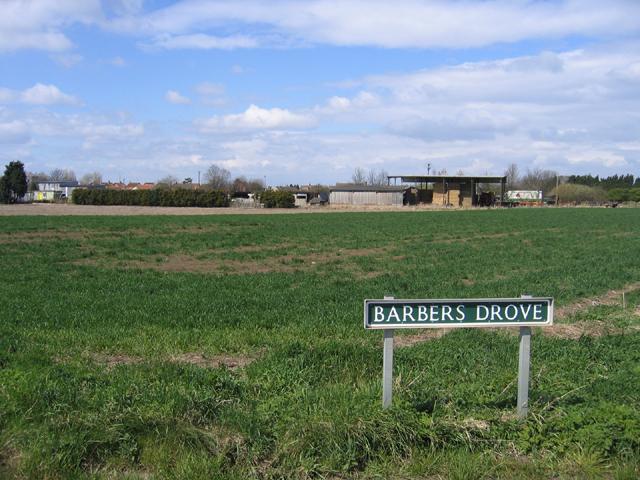 Barber's Drove, Crowland, Lincs