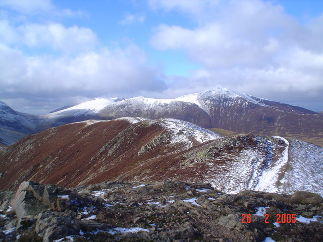 View from Causey Pike.