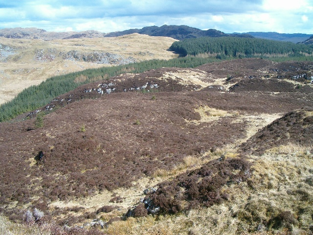 View from Dun an Dubh-challa