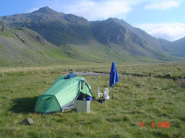Camping on Great Moss.