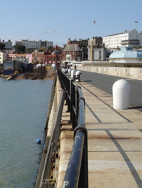 Ramsgate from the East Pier