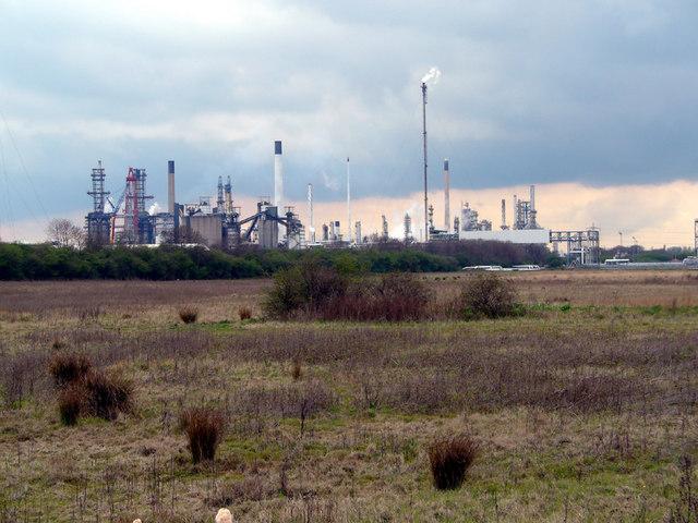 Conoco Oil Refinery
