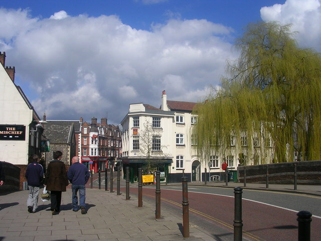 Bridge over the River Wensum, Norwich