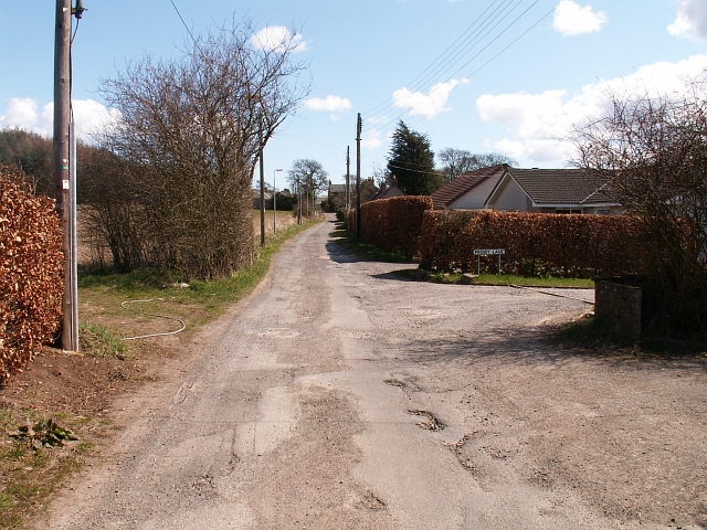 Priory Road, The Gauldry