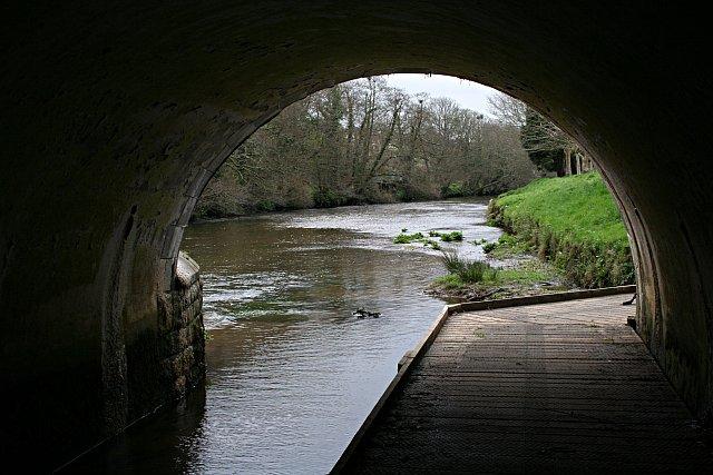 Footpath under the Bridge