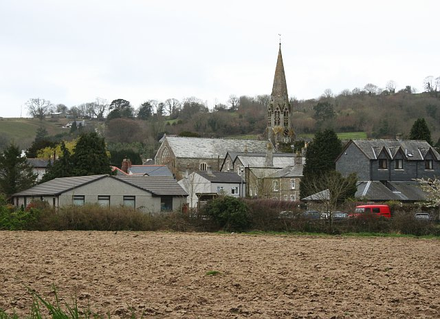 Lostwithiel from the Riverbank