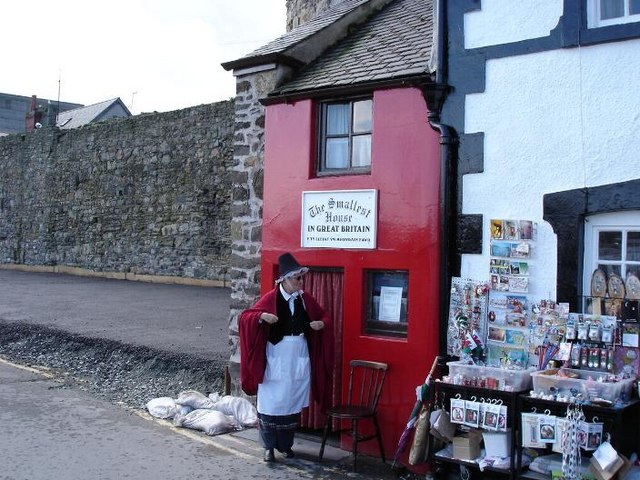 The smallest house in the country