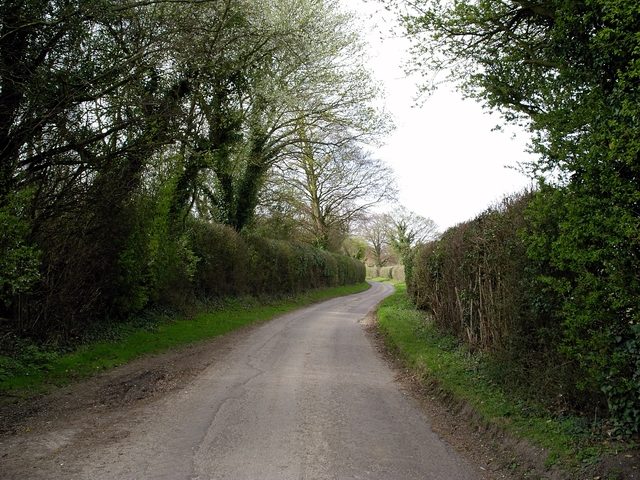 Minor road north of Norton Manor