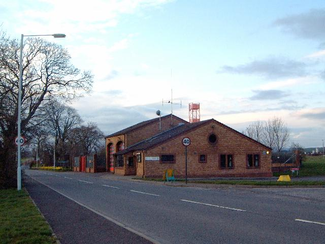 Lockerbie fire station