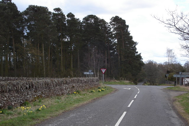Cross Roads near Ruthven