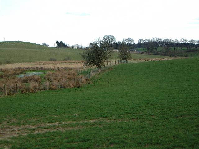 Fields near Lockerbie
