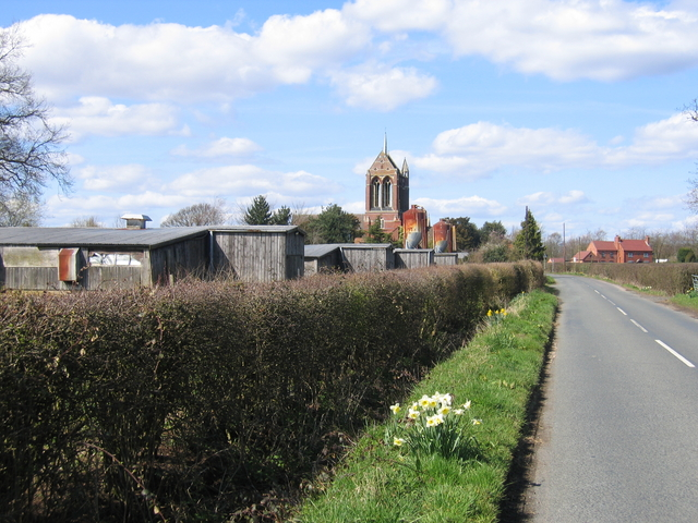 Chapel Green Farm and St Mary's Church, Wythall