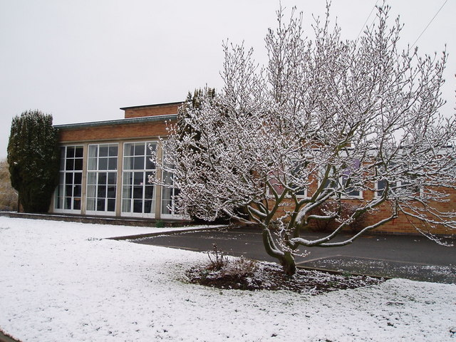 January Snow at Langmoor Primary School