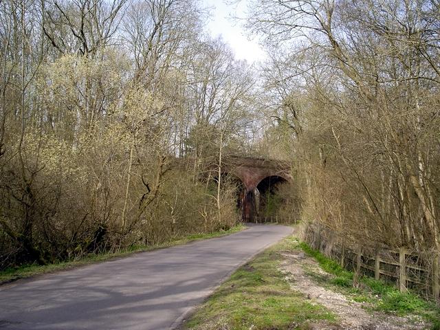 Viaduct over Bullington Lane
