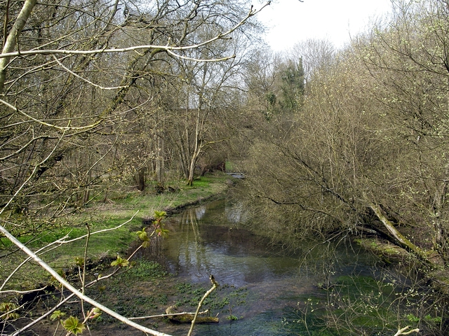 River Dever, west of A34