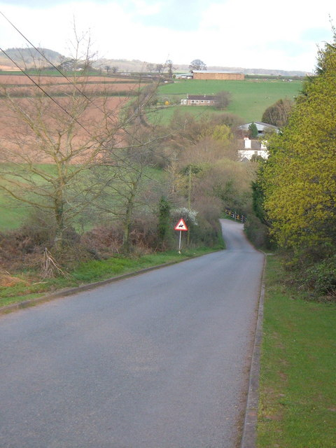 Lane near Splatford