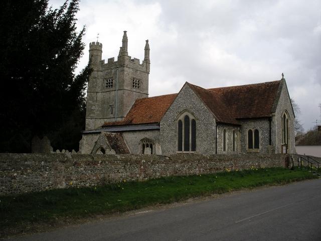 All Saint's Church, Barton Stacey