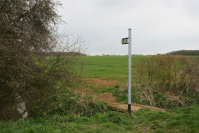 Footpath near Humby, Lincolnshire