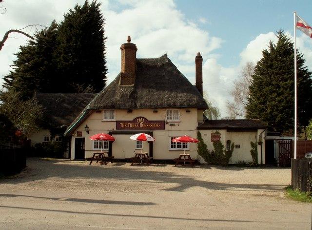 'The Three Horseshoes' public house, Molehill Green, Essex