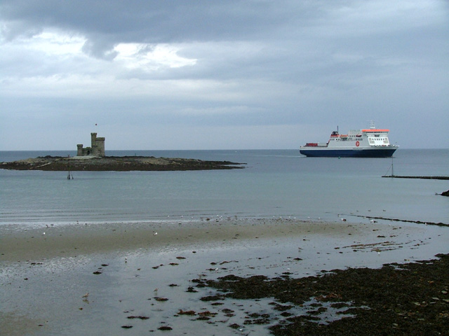 Tower of Refuge and the Ben My Chree