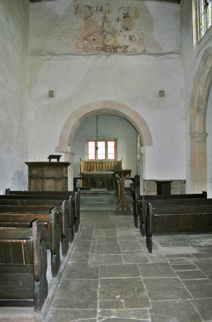 Interior of Haceby Church
